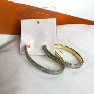 NEW Free People iridescent earrings